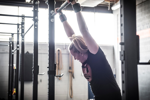"""I am the perfect example. This is a picture of me last year during the CrossFit Open. I am not magazine cover ready, I am your average female looking to stay in shape and age gracefully. Burpees still hurt, and sometimes I finish last out of the group, which is totally ok because I know that progress is always rewarded over perfection at NTC. Below are other reasons why CrossFit is perfect for """"beginners"""""""