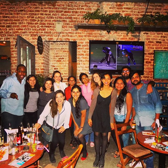 Great times at the Biannual IDEX Networking Event (July 2015 Cohort) #idexfellowship