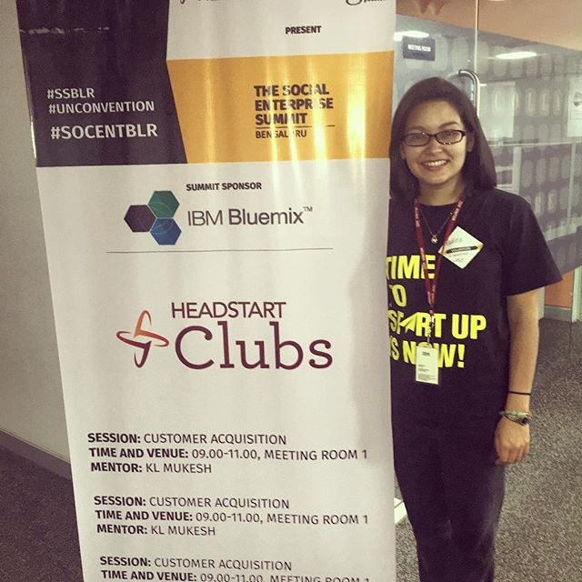 Congrats to IDEX Fellow, Nadine Tavera, along with her social enterprise partner, Headstart Network Foundation, for pulling off an engaging and inspiring Social Enterprise Summit-Bangalore this past weekend! ‪#‎SSBLR‬ ‪#‎Unconvention‬ ‪#‎socentblr‬ ‪#‎idexfellowship‬
