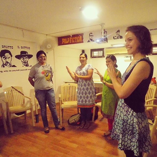 The July 2015 IDEX Fellows learned how storytelling can be a key ingredient in communication. They may have picked up some bollywood moves while they were at it too! #idexfellowship