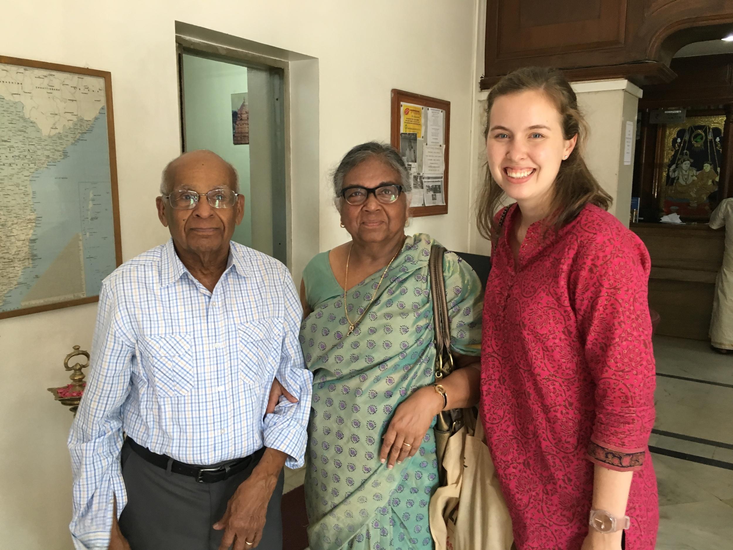 Adventuring to Chennai to meet family friends from NJ, Gus and Neela Pushparaj.