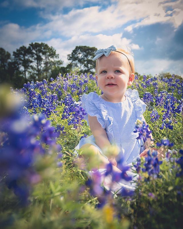 We were able to find a spot right in the middle for Amelia's Bluebonnet Photos! #texas #bluebonnets #teamcanon #child #bluebonnets2019 #bluebonnetphotography #houston #houstonphotographer #childportraits #flowers #outdoors #spring #portrait #child  #photooftheday #instagood