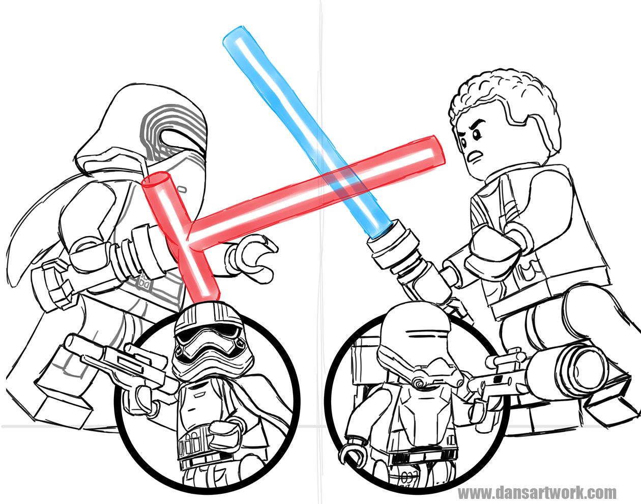SW TFA commission digital sketch