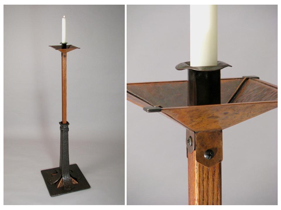 2006 Forged steel, copper, oak