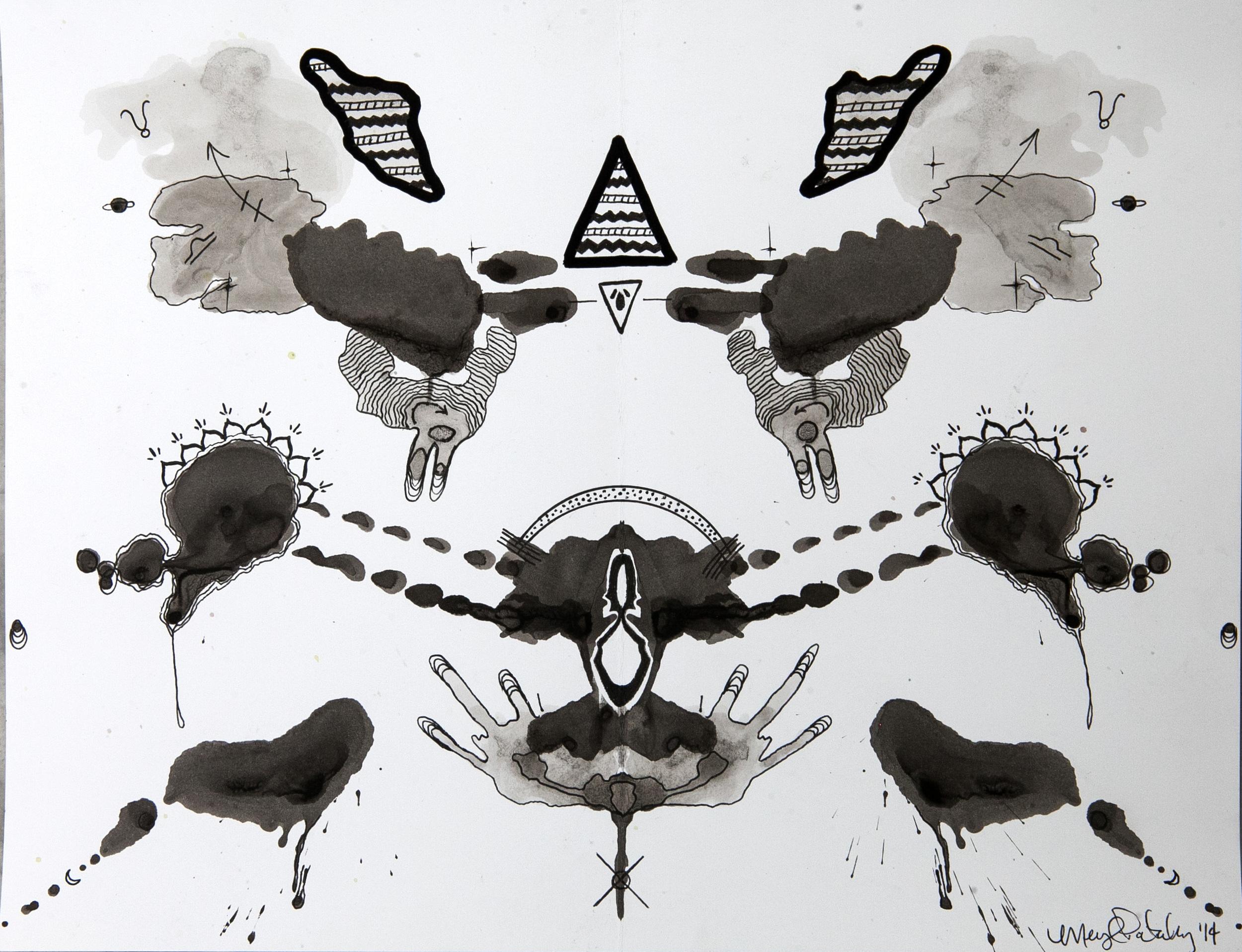 Rorschach Study 6