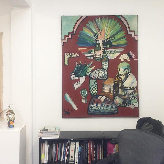 Painting by Juan José Gurrola