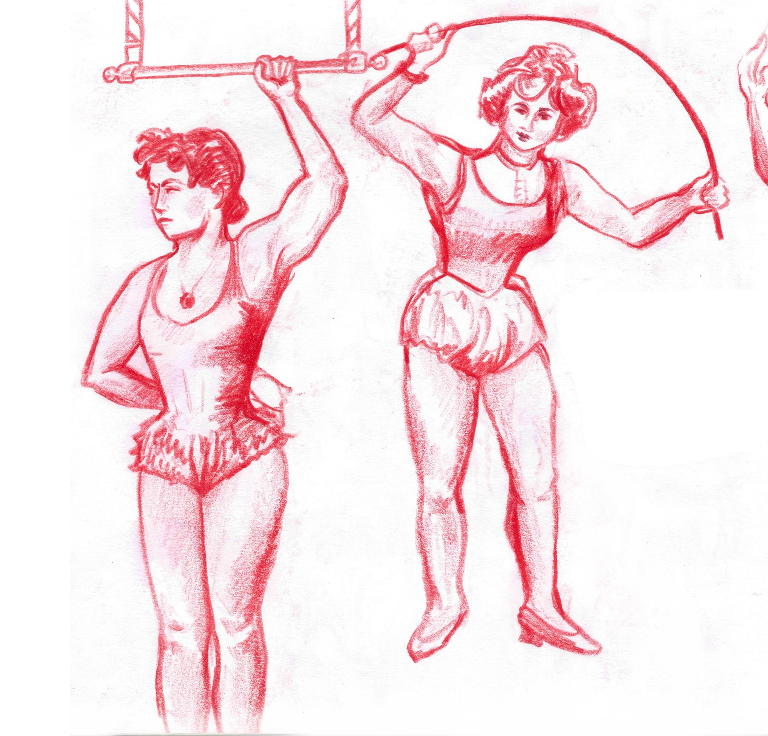 Studies of Muscular Women 1