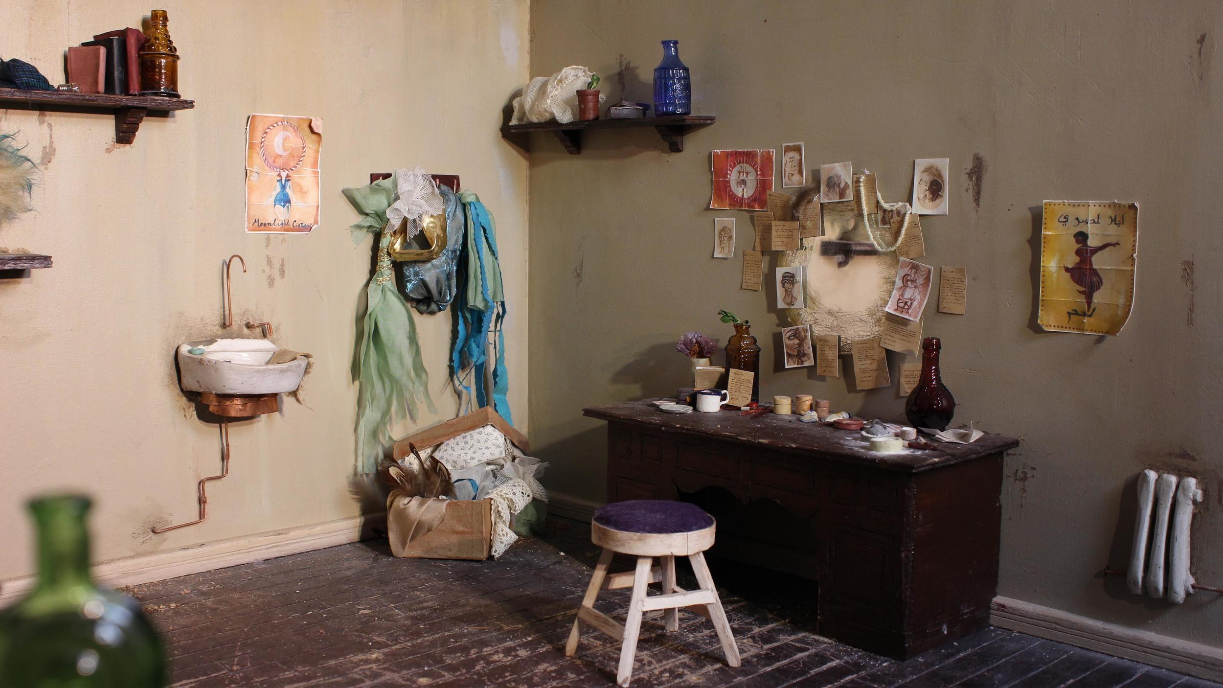 Corner of Dressing Room