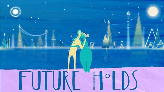 Find out what the Future Holds for these ladies... New lyric video for Tom Rosenthal is up online right nowimmediatelynow! It'll be on Tom's YouTube or my Vimeo channel.  #musicvideo #lyricvideo #tomrosenthal #2danimation #animation #animationdirector #animator #lgbtq 🌈 #handdrawn #hangarpuppetanimationstudio #estateofthearts #love #future #tomrosenthal #music #art