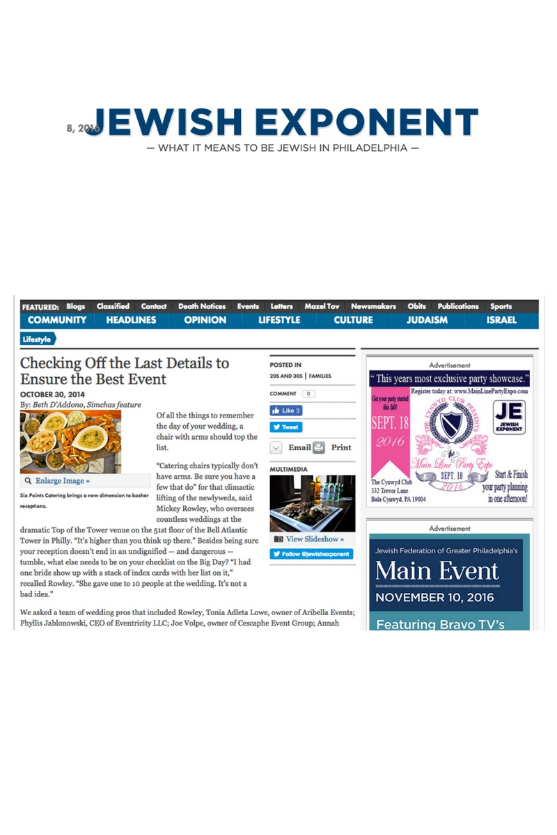 20 Aribella Events Jewish Exponent Wedding Planning Advice.jpg