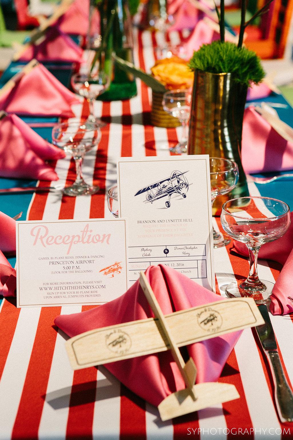 24 Philadelphia Wedding Princeton Airport Wedding Vintage Carnival Wedding Stationery.jpg