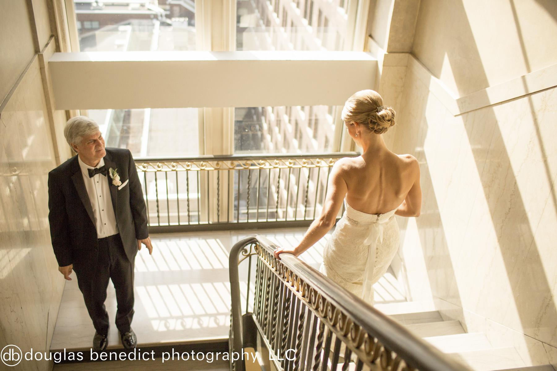 19 Philadelphia Wedding Father Daughter First Look Downtown Club Wedding.jpg