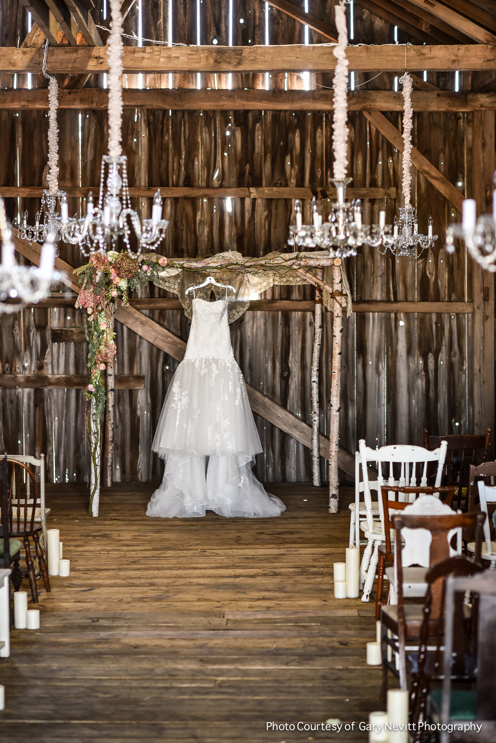 01 Philadelphia Wedding Floral Designer Enzoani Dress Birch Chuppah Chandeliers Barn Wedding.jpg