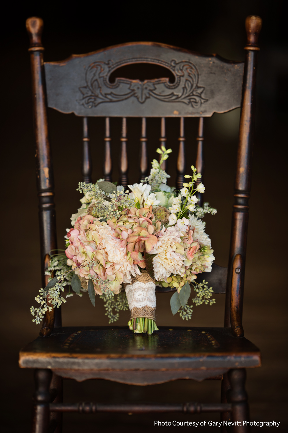 05 Philadelphia Wedding Planner Wedding Florist Barn Wedding Antique Hydrangea Brides Bouquet.jpg