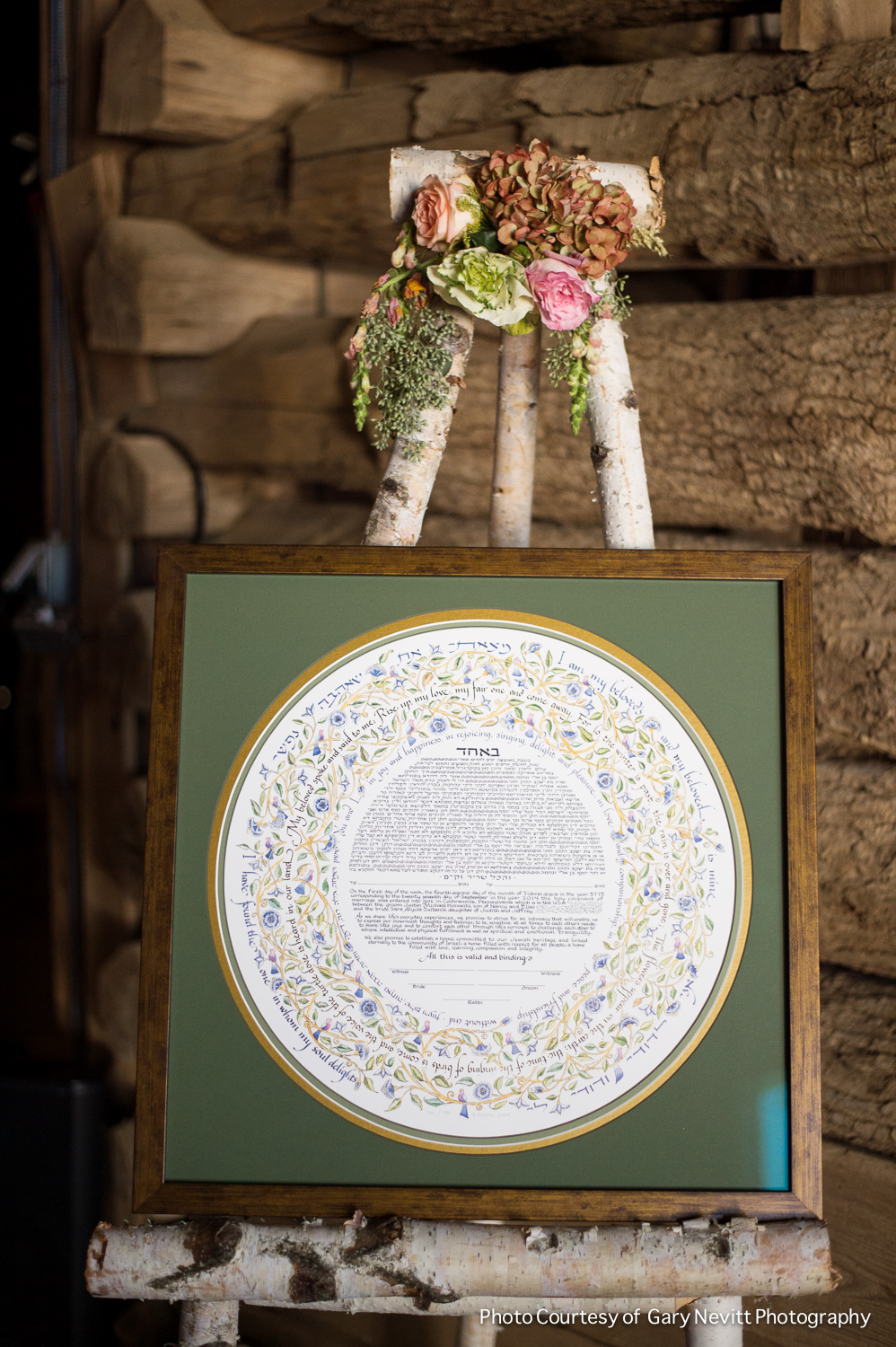 14 Philadelphia Wedding Planner Birch Easel Ketubah Barn Wedding.jpg