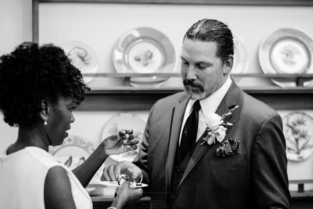 28 Philadelphia Wedding Intimate Wedding Rittenhouse Cake Cutting.jpg