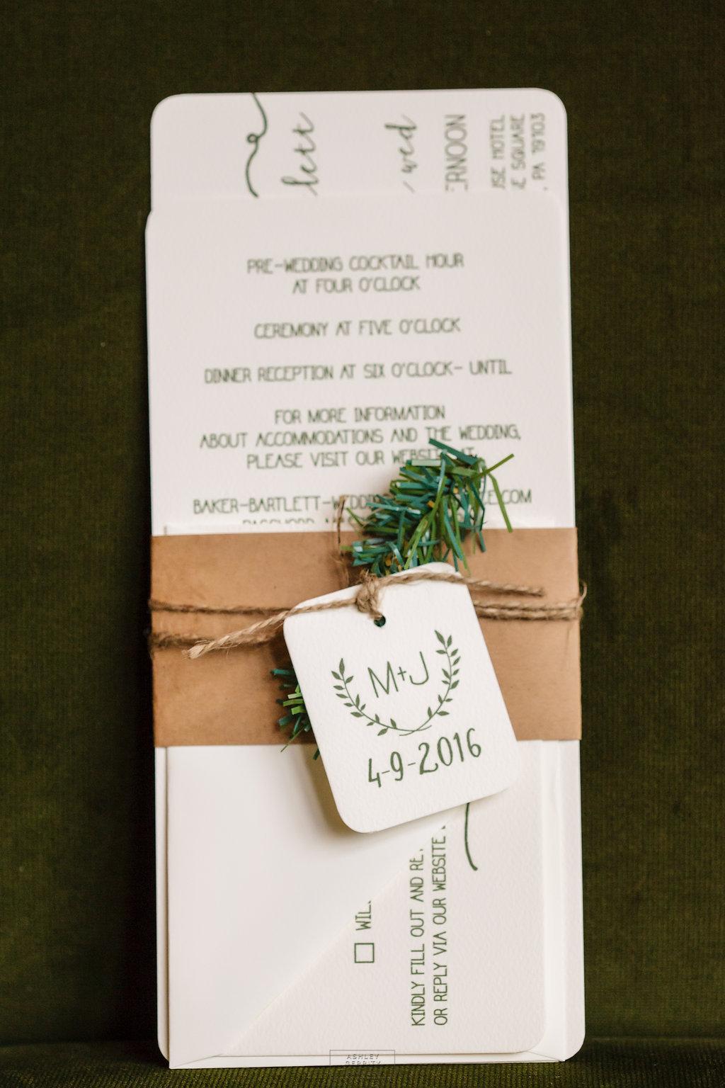03 Philadelphia Wedding Intimate Wedding Invitiation.jpg
