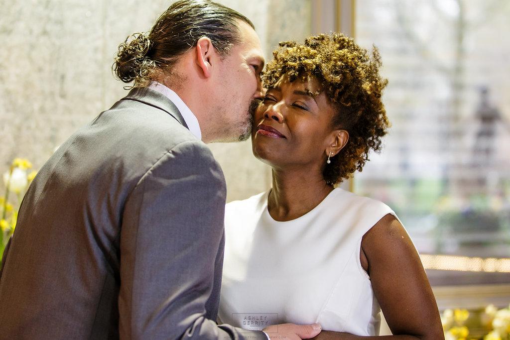 15 Philadelphia Wedding Rittenhouse Hotel Wedding Intimate Wedding First Look.jpg