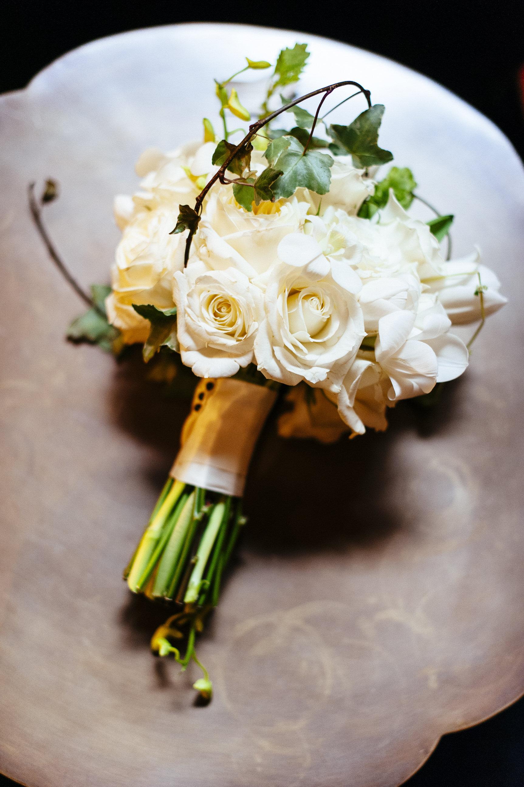 22 Hotel DuPont Wedding Brides Bouquet Wilmington Wedding Florist.jpg