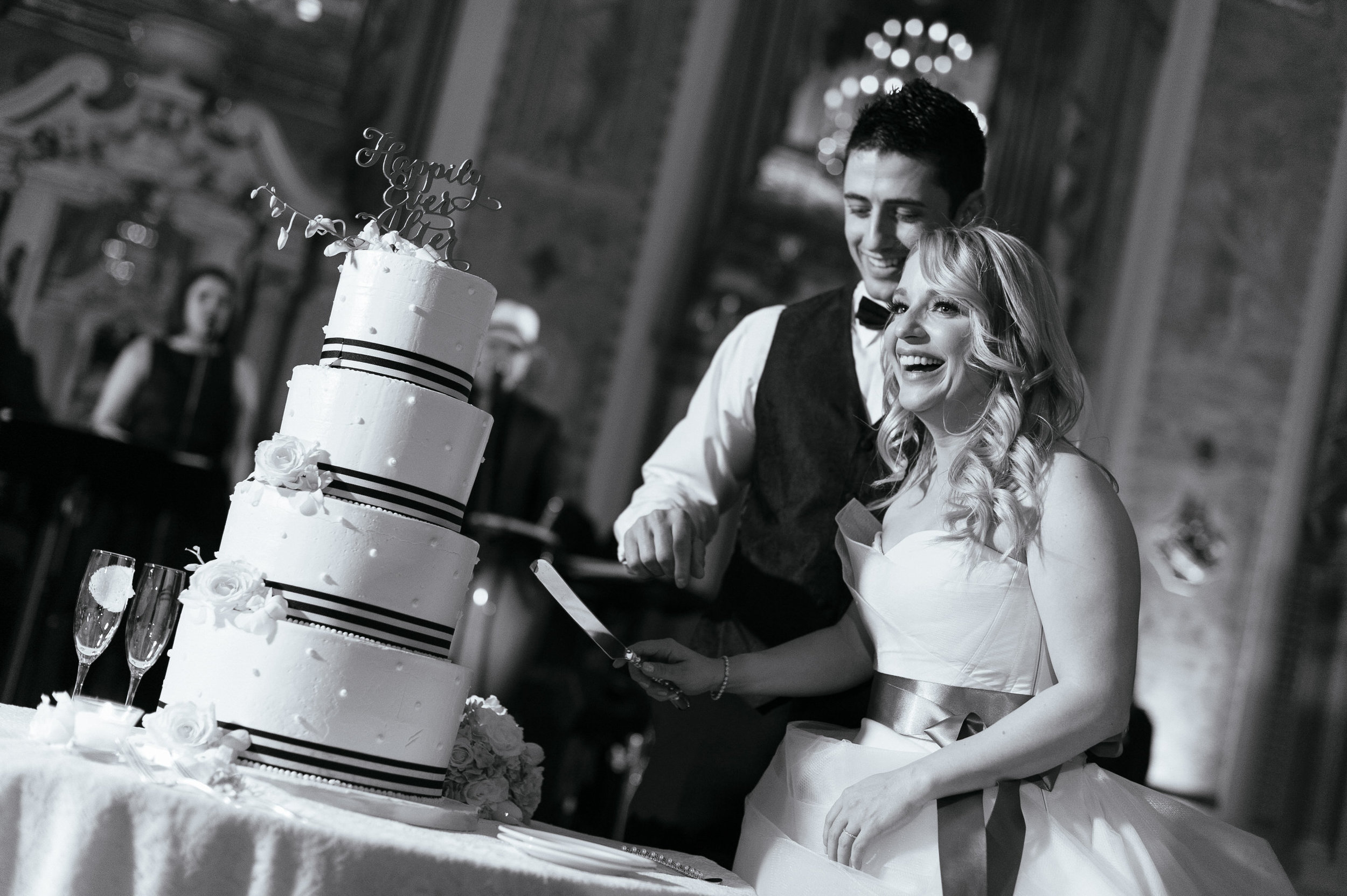 30 Hotel DuPont Wedding Cutting the Cake Wilmington Wedding Planner.jpg