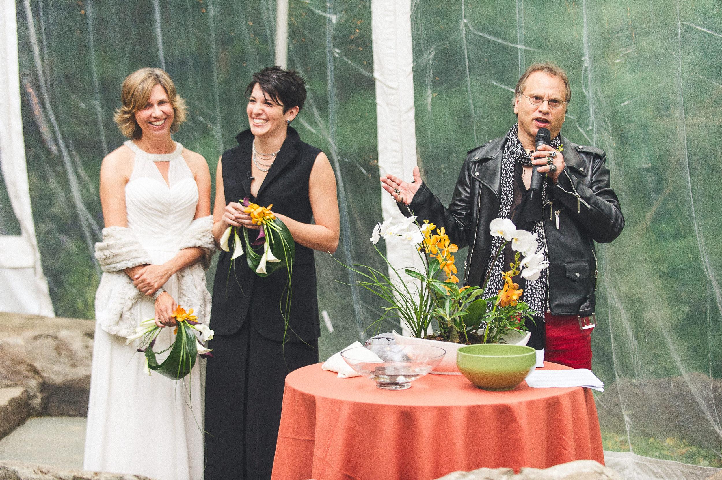 17 Philadelphia Wedding At Home Wedding Clear Tent Ceremony.jpg
