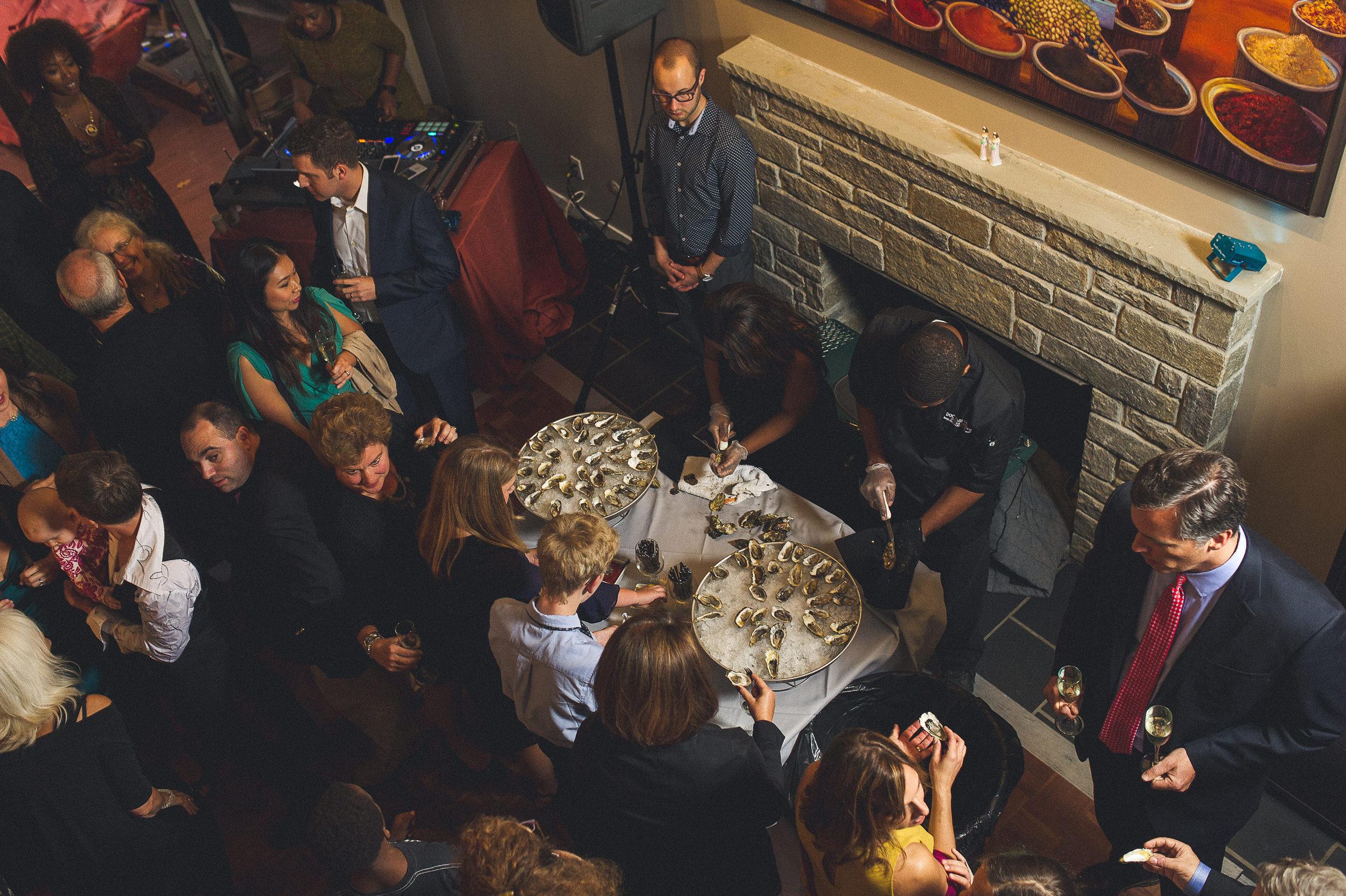 18 Philadelphia At Home Wedding Oyster Bar Cocktail Reception.jpg