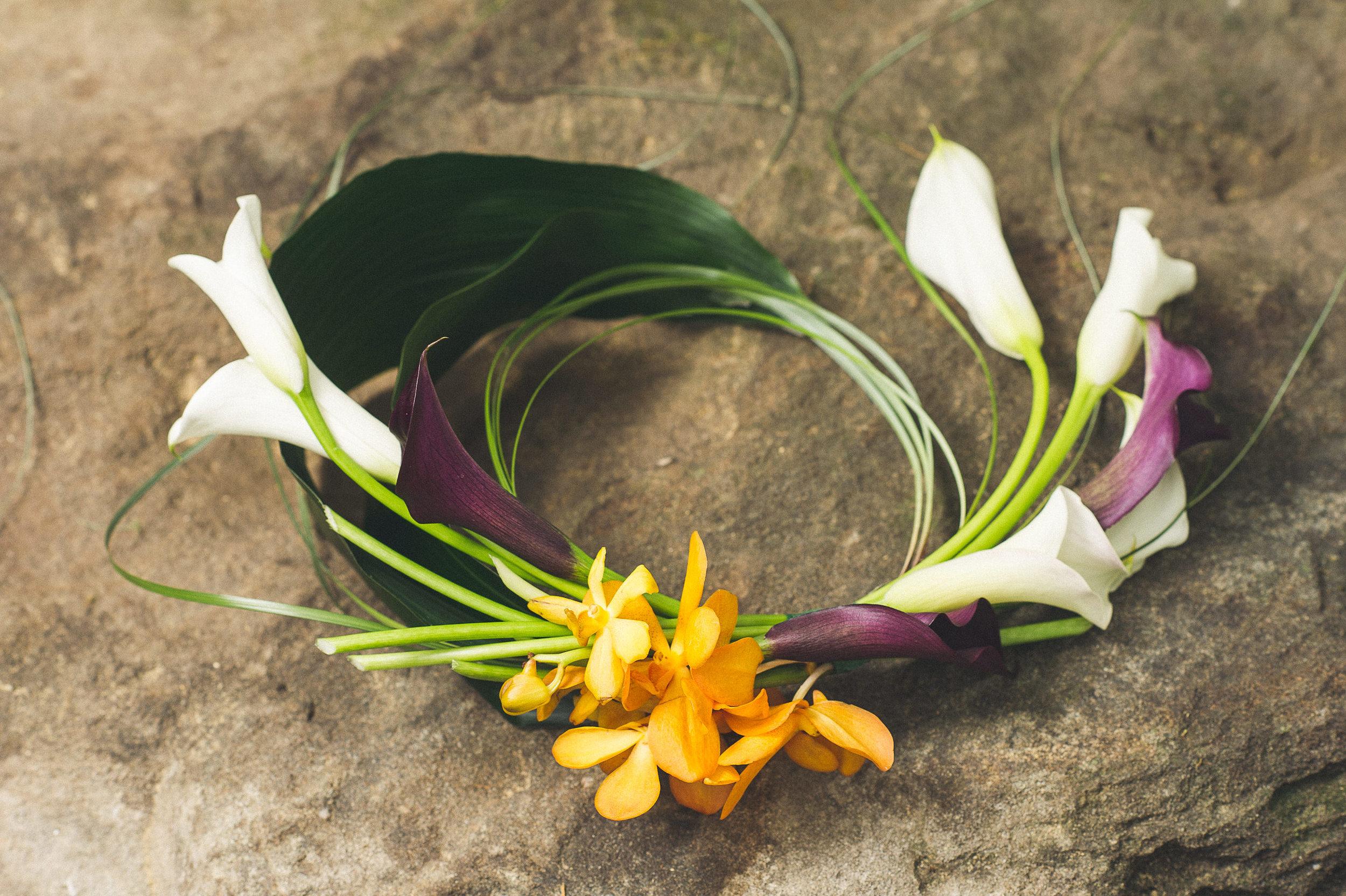 10 At Home Wedding Infinity Bouquet Calla Lily Orchid Philadelphia Wedding Florist.jpg