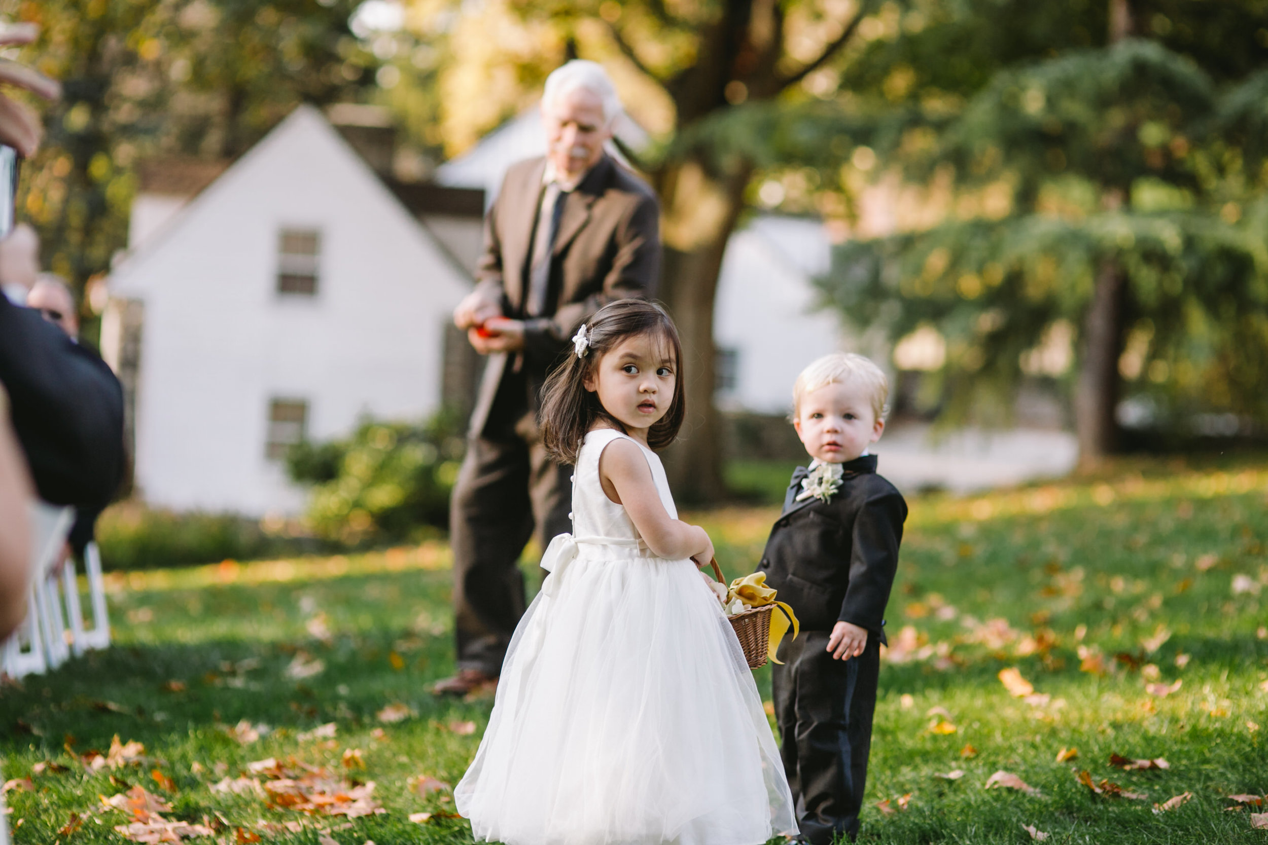 18 Appleford Estate Wedding Outdoor Ceremony Ring Bearer Flower Girl.jpg