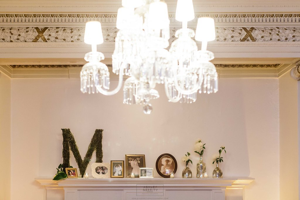 20 Stotesbury Mansion Philadelphia Wedding Family Photos Wedding Mantel Decoration.jpg