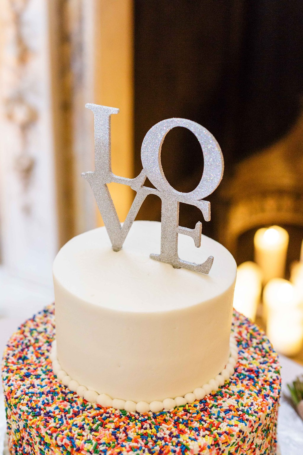 29 Philadelphia Wedding Rittenhouse Square Stotesbury Wedding Jimmies Wedding Cake Sprinkles.jpg