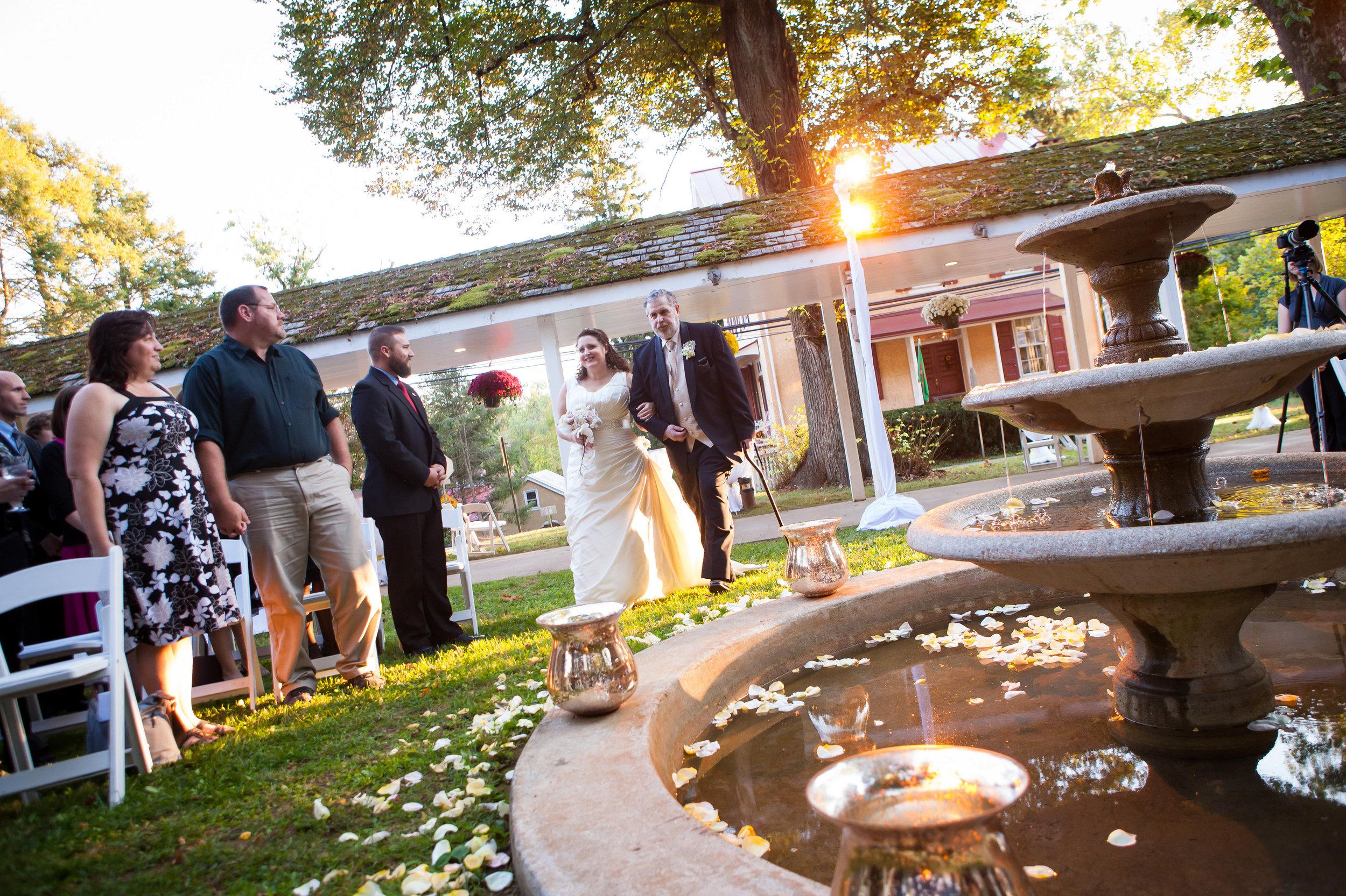 13 Philadelphia Wedding Planer Historic Yellow Springs Sunset Ceremony.jpg