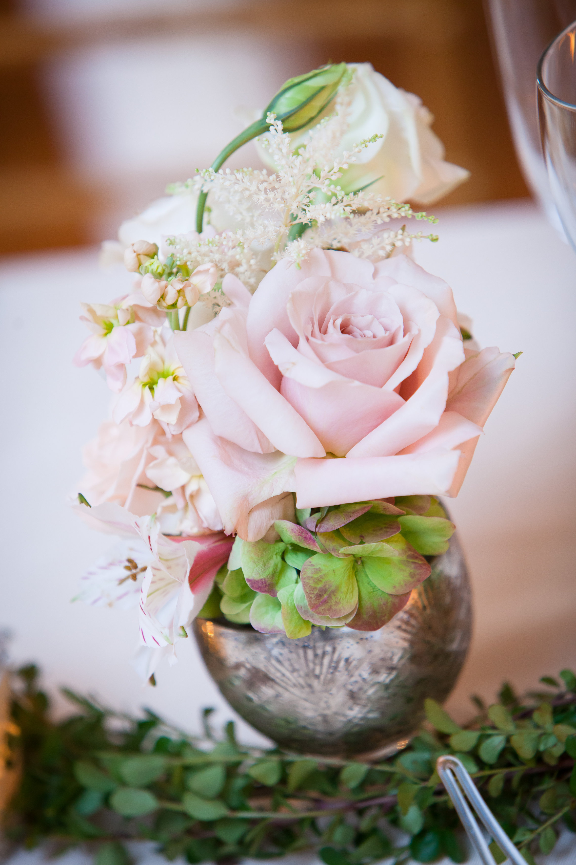 25 Philadelphia Wedding Florist Mercury Glass Pink Rose Reception Decor Aribella Events Historic Yellow Springs.jpg