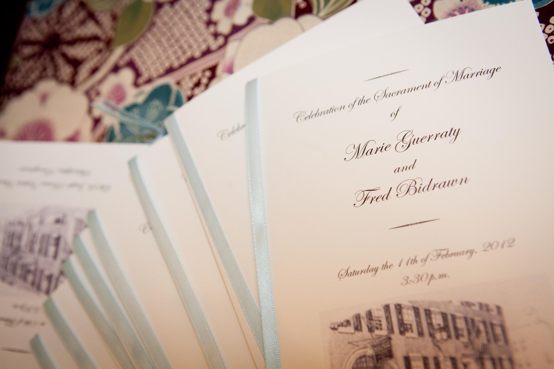 13 Old St Josephs Philadelphia Wedding Ceremony Programs.JPG