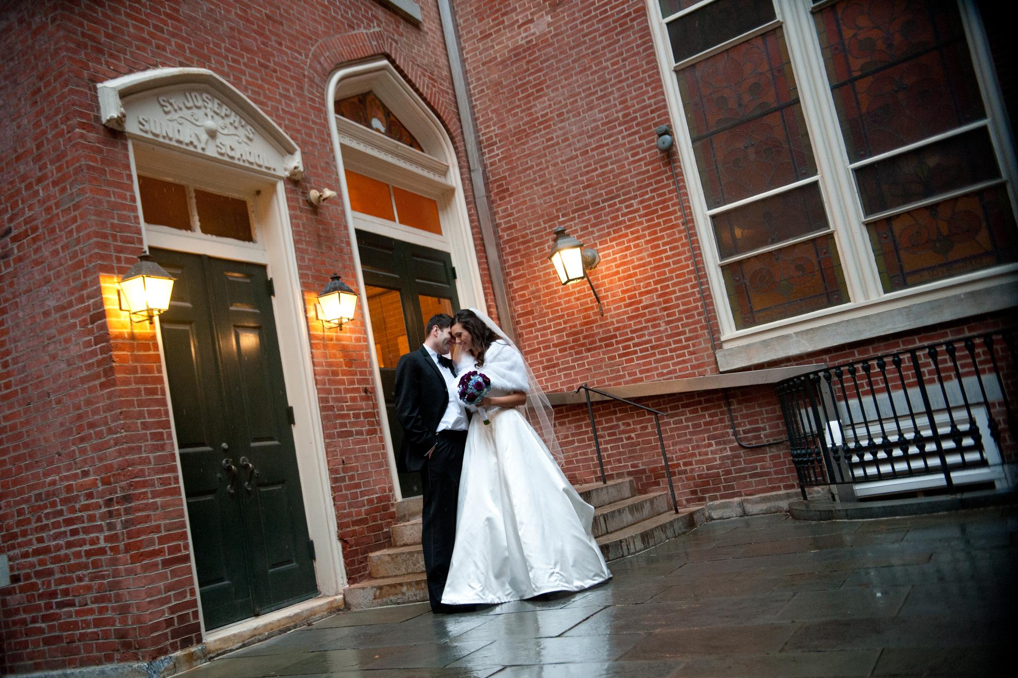 20 Old St Josephs Philadelphia Winter Wedding.JPG