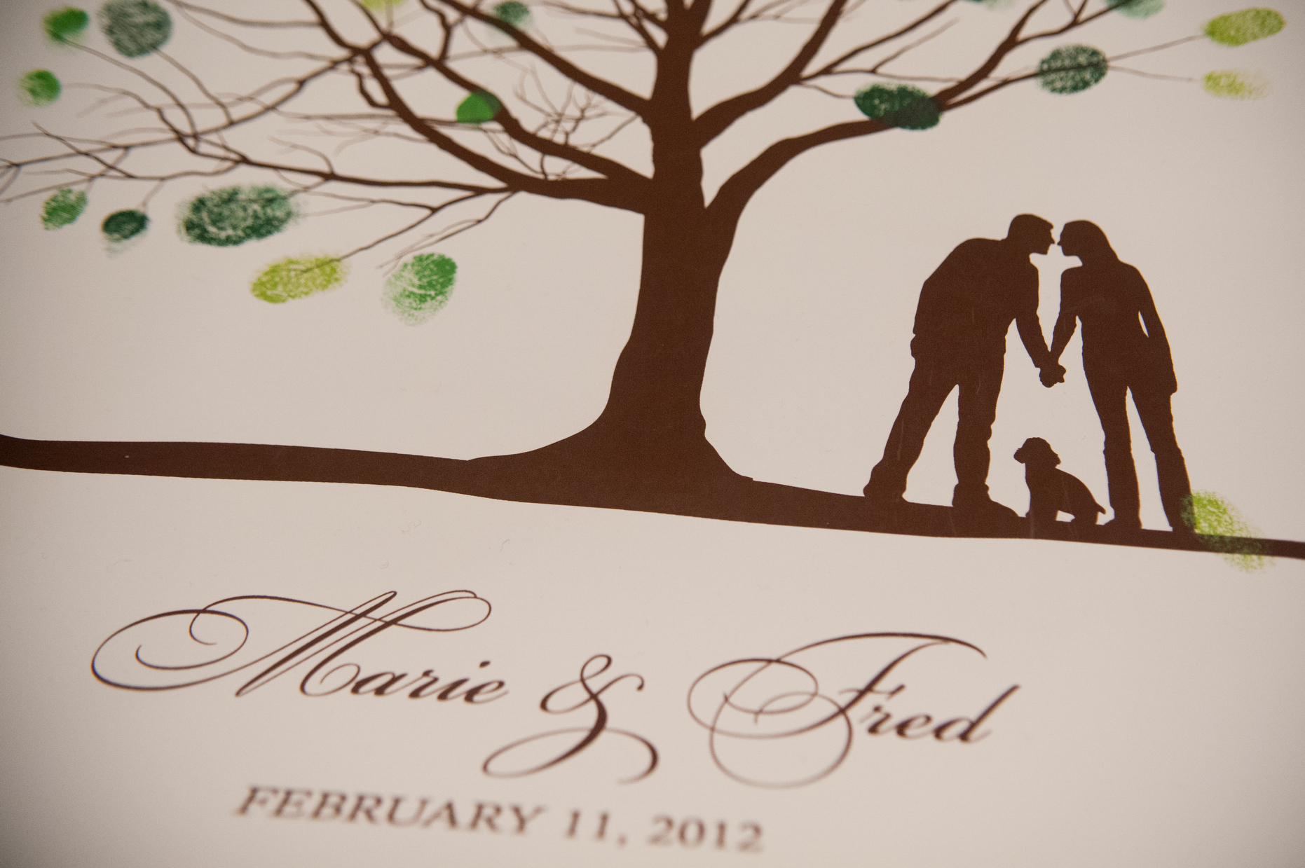 27 Custom Fingerprint Art Wedding Downtown Club.JPG
