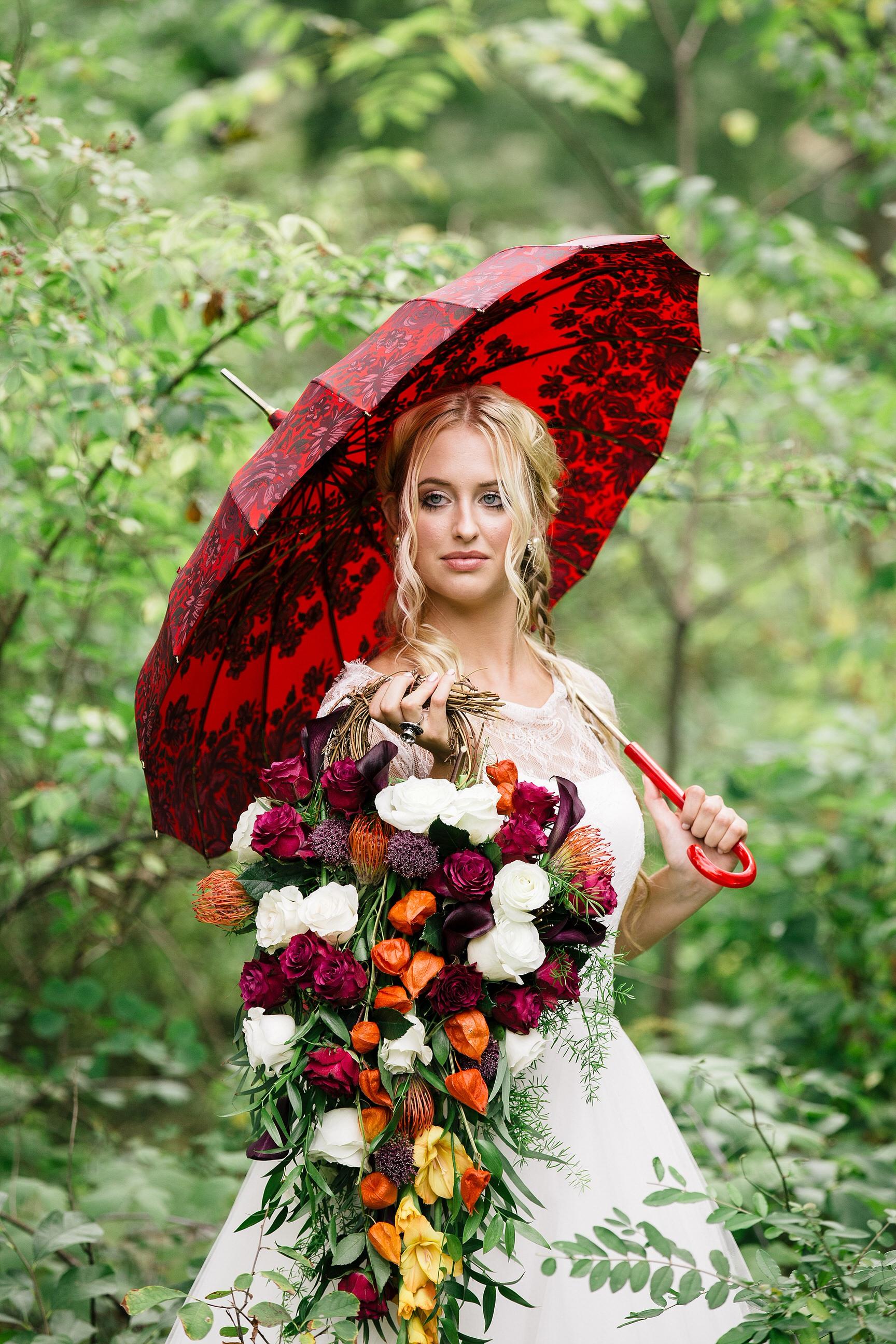 41 Teardrop Bouquet Red Orange Purple White Grapevine Philadelphia Wedding Designer.JPG