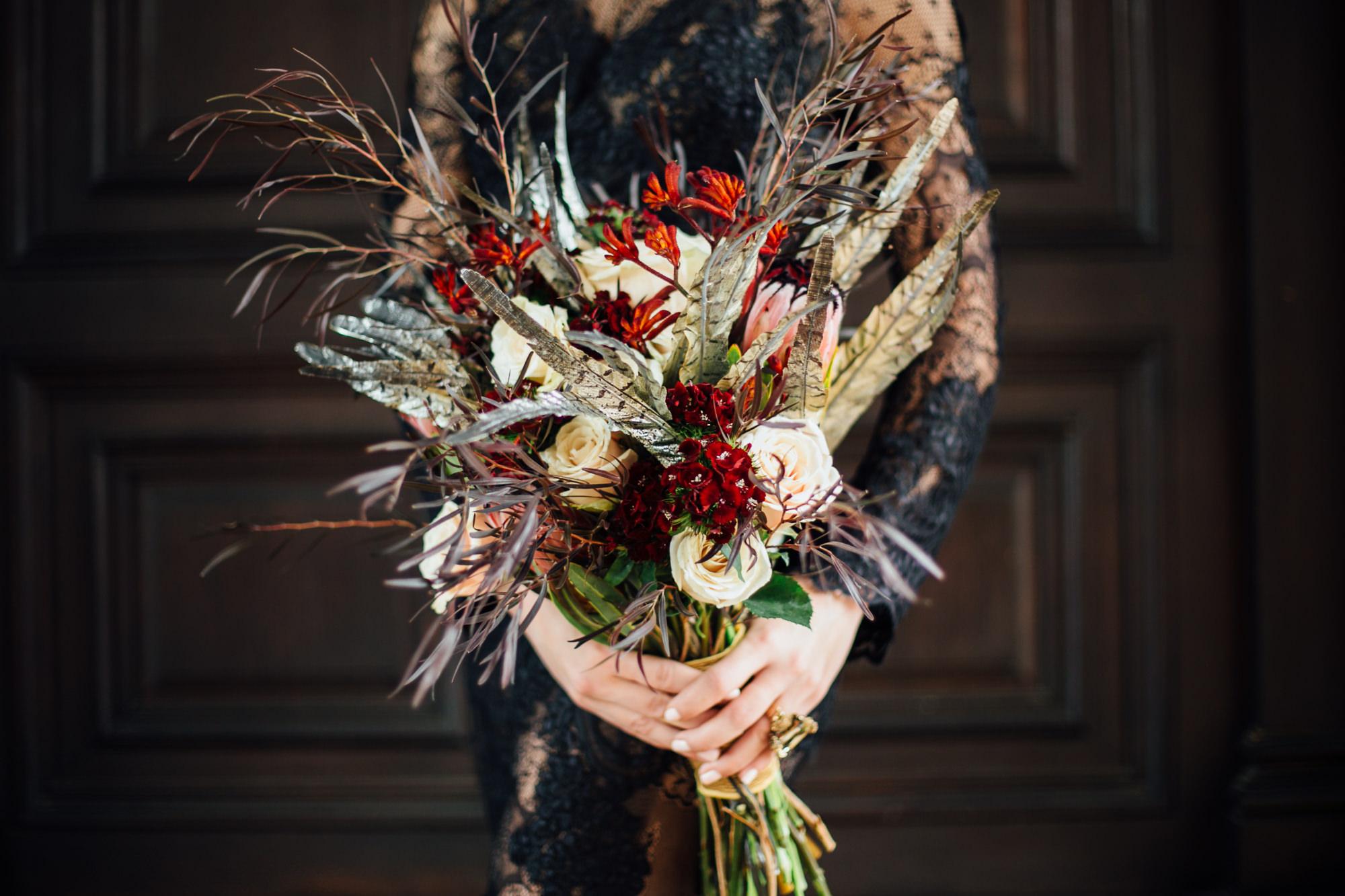 66 Feather Bouquet Winter Wedding Bouquet Philadelphia Wedding Designer.jpg