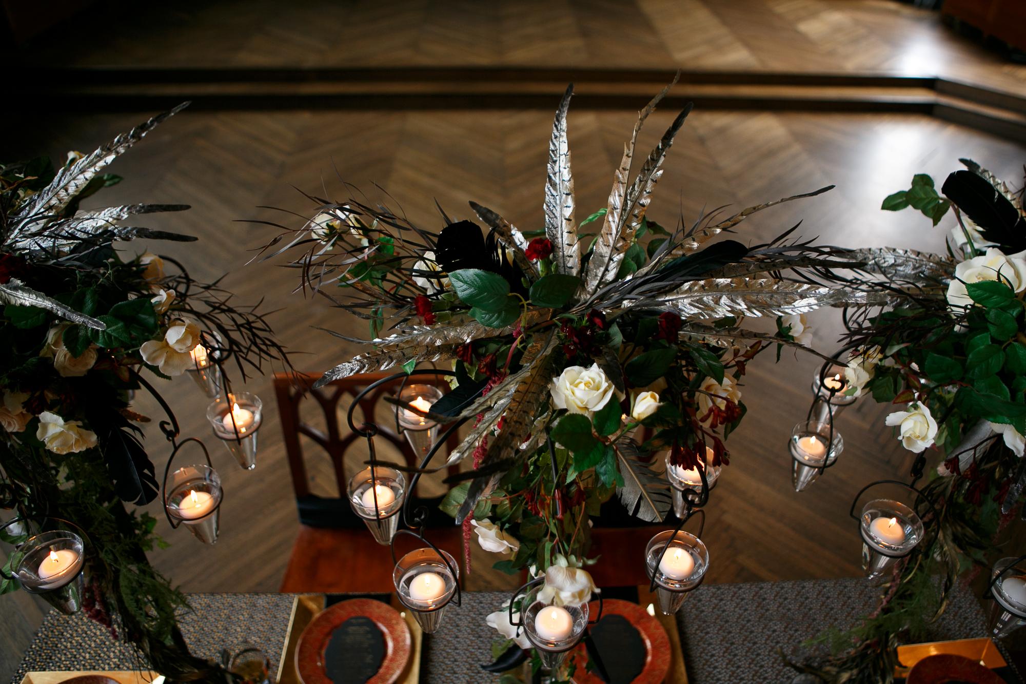 06 Highline Hotel NYC Wedding Aribella Events Floating Candles Candelabra.jpg