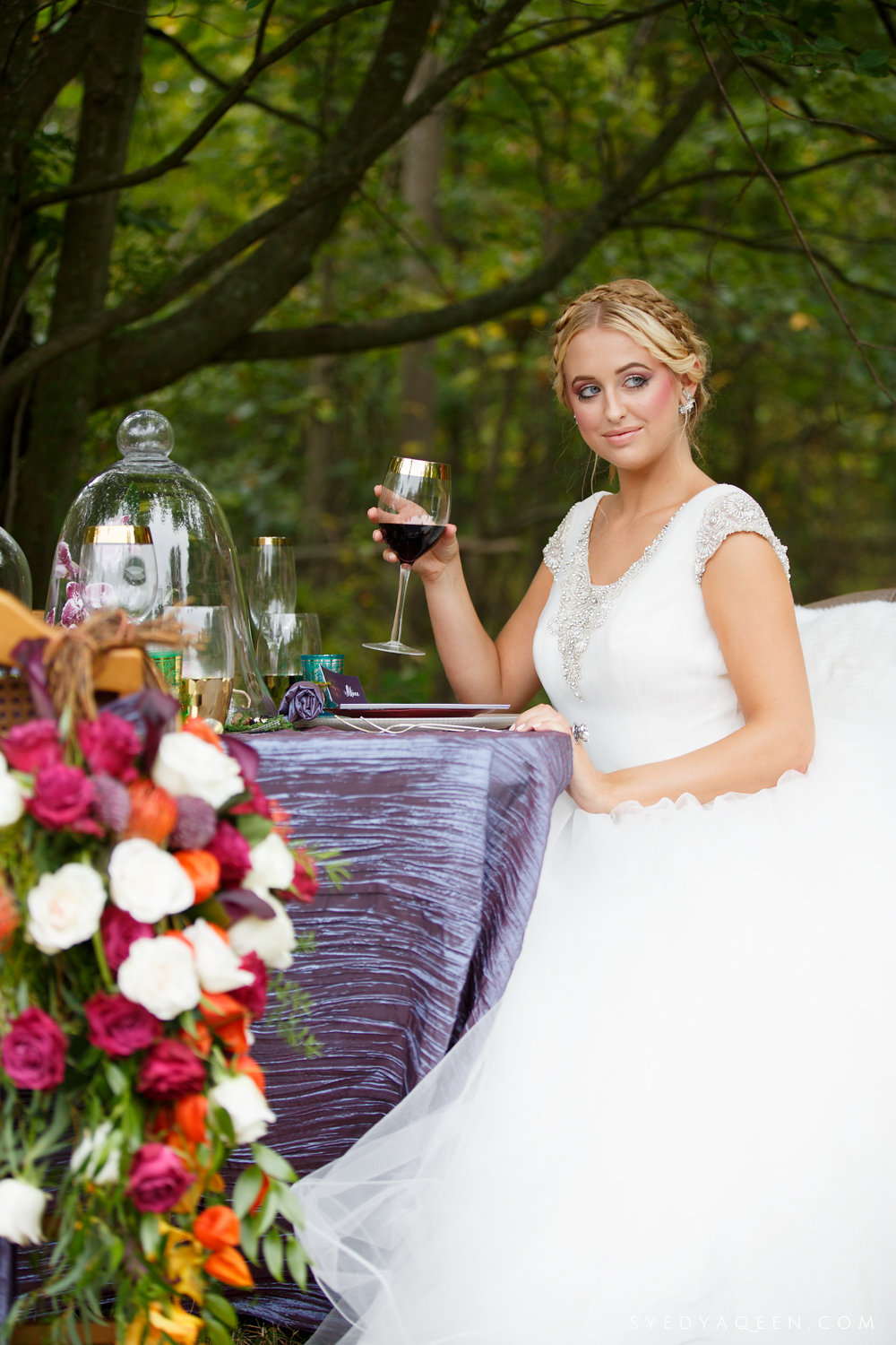 18 Alice in Wonderland Wedding Inspiration Outdoor Reception Aribella Events.JPG
