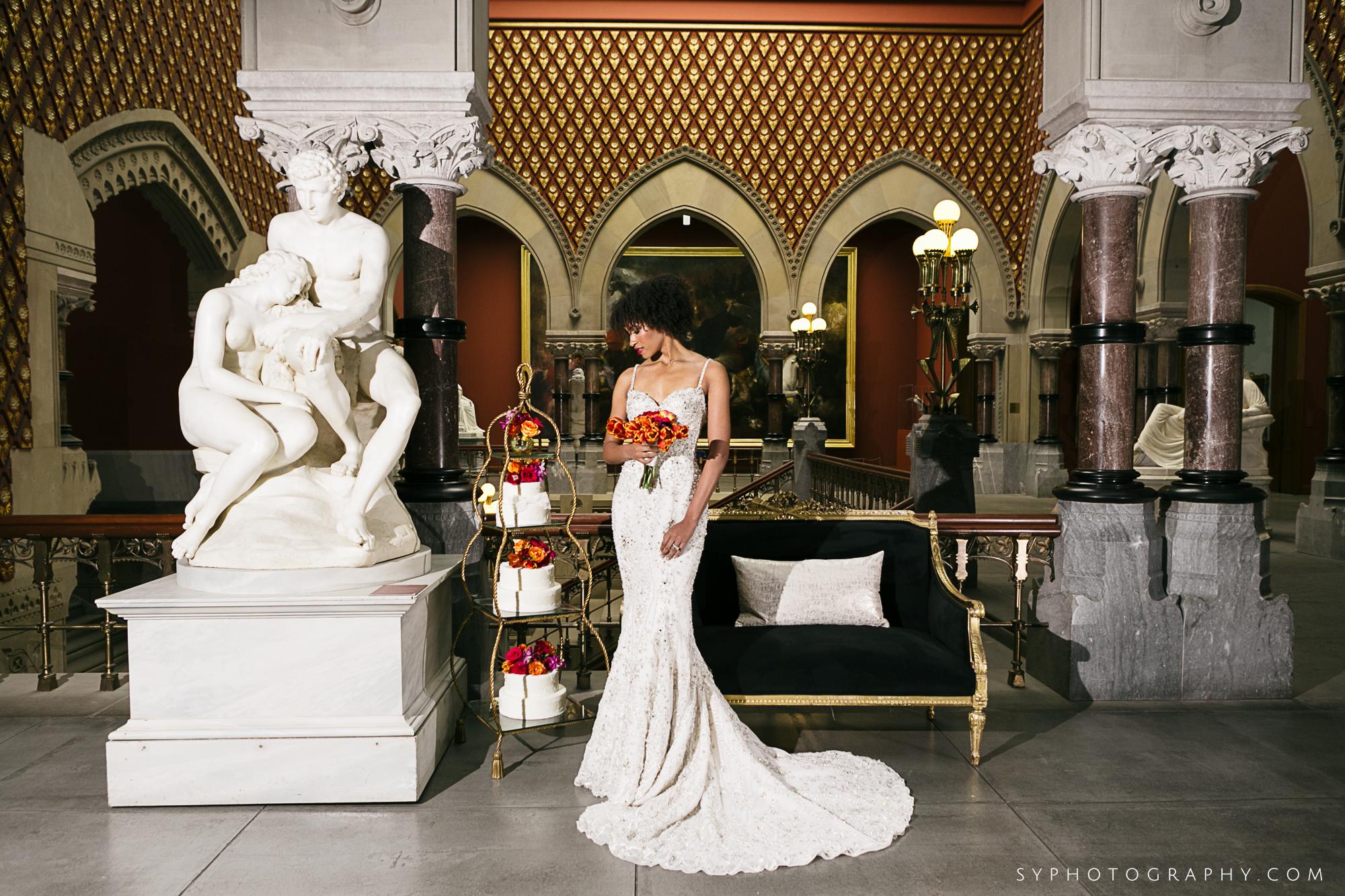 02 PAFA Spring Wedding Maggpie Vintage Orange Pink Rose Orchid Philadelphia Wedding Designer.jpg