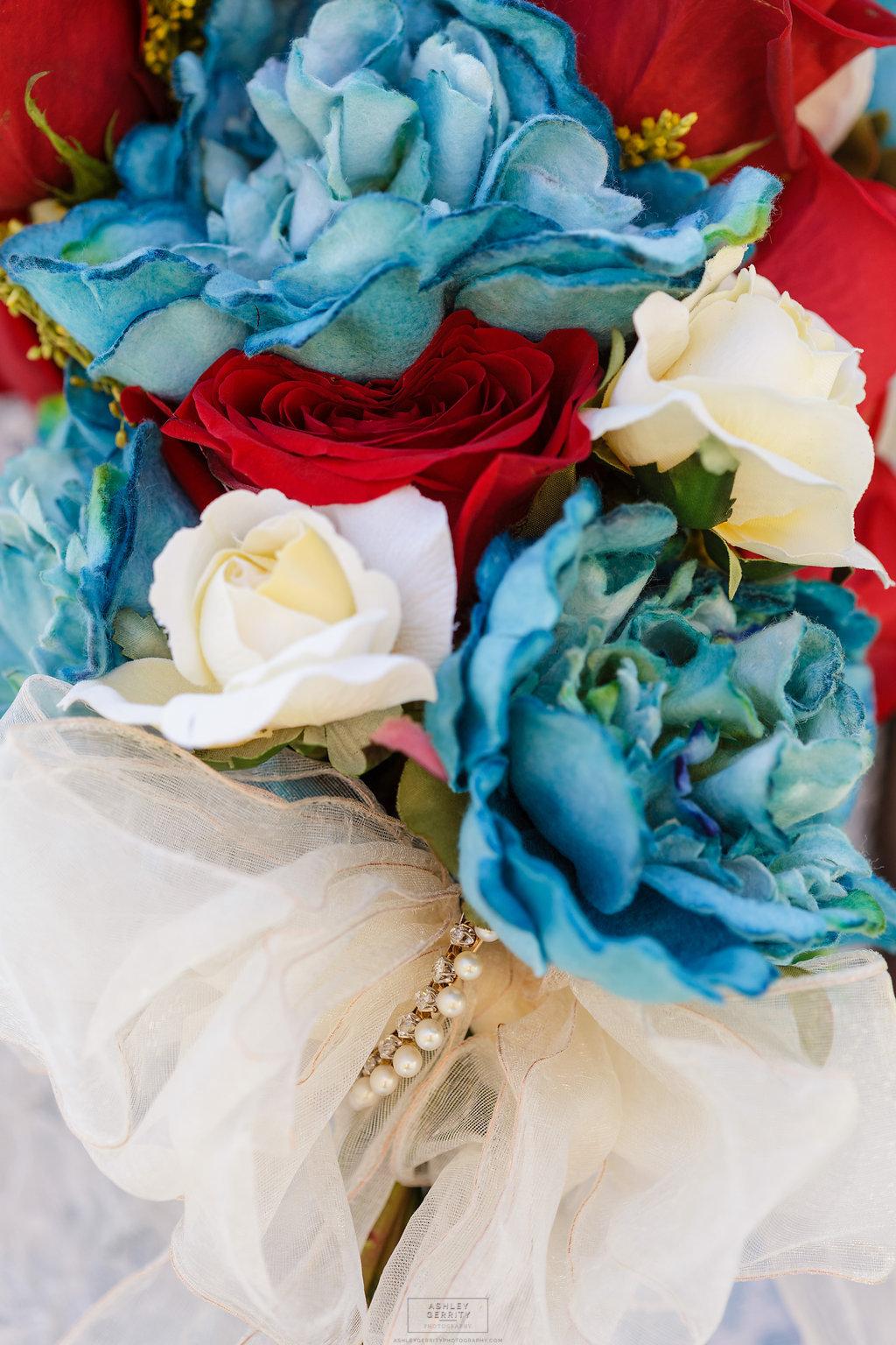 24 Felt Flower Fresh Flower Bouquet Heirloom Jewelry Gilmore Girls Wedding Inspiration.jpg