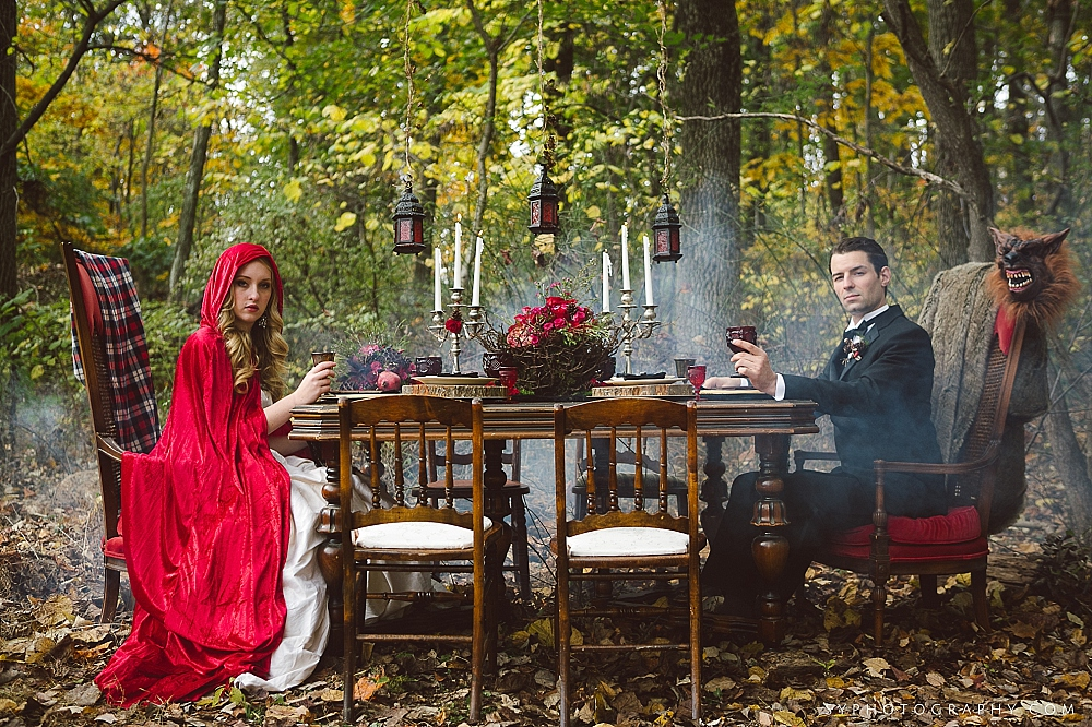 12 Little Red Riding Hood Big Bad Wolf Wedding Woodland Reception.jpg