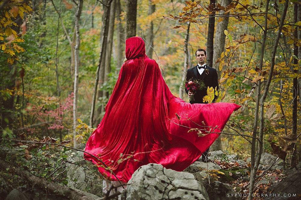 15 Little Red Riding Hood Big Bad Wolf Wedding Philadelphia Wedding Designer.jpg