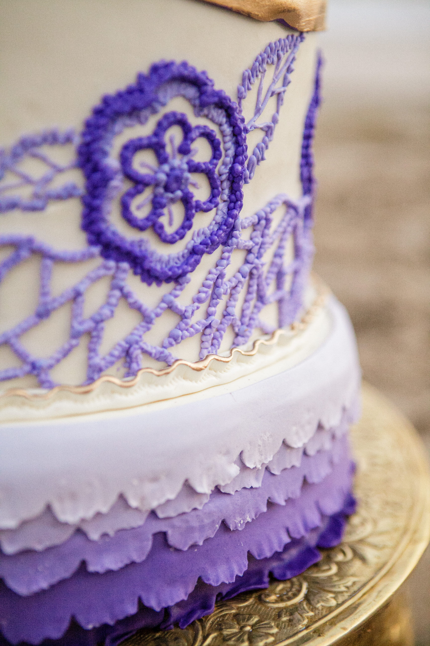 20 Destination Wedding Planner Desserts by Dana Ombre Cake Detail.jpg