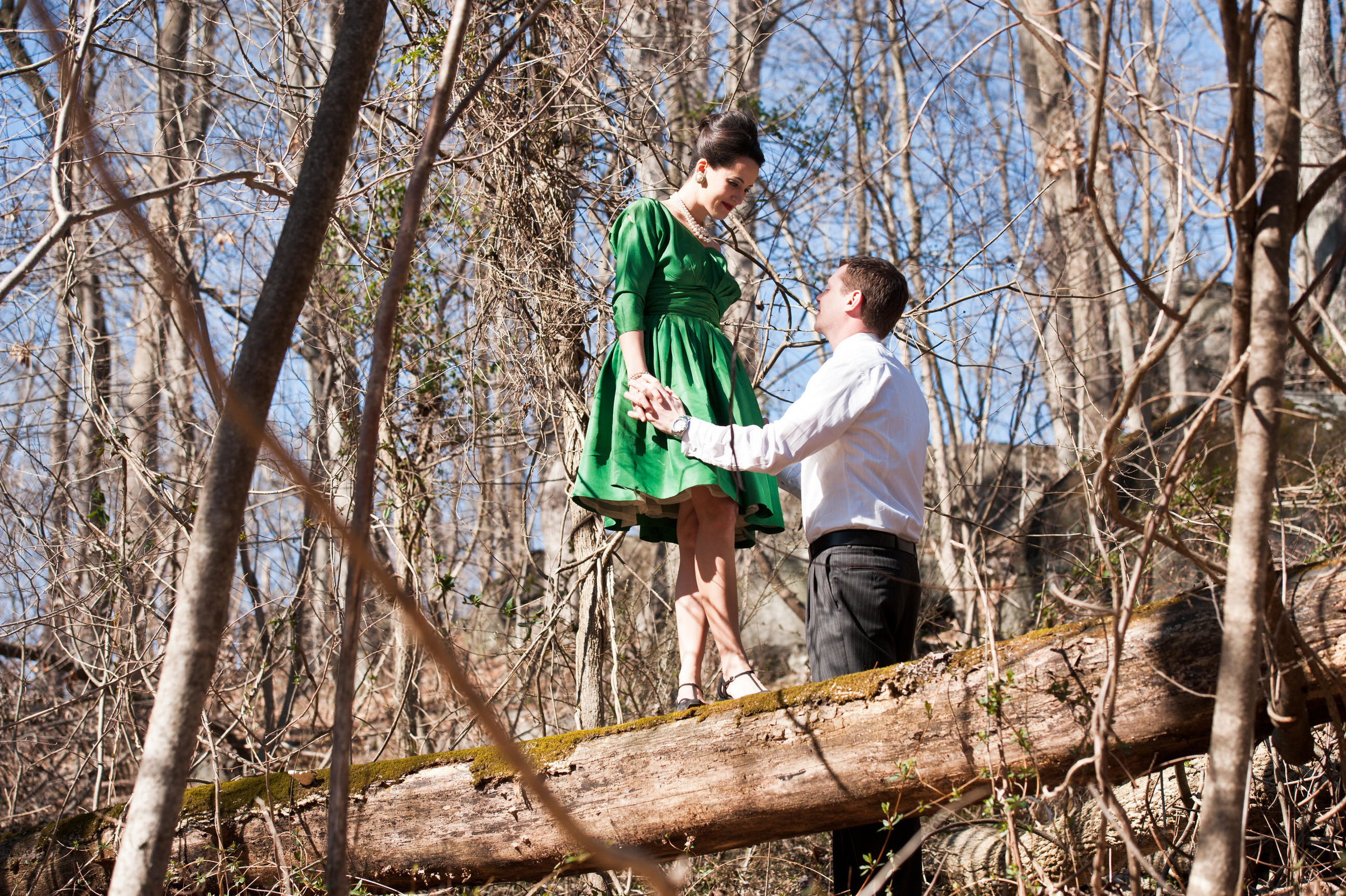 05 Philadelphia Event Planner Mad Men Rock Climbing Engagement.jpg