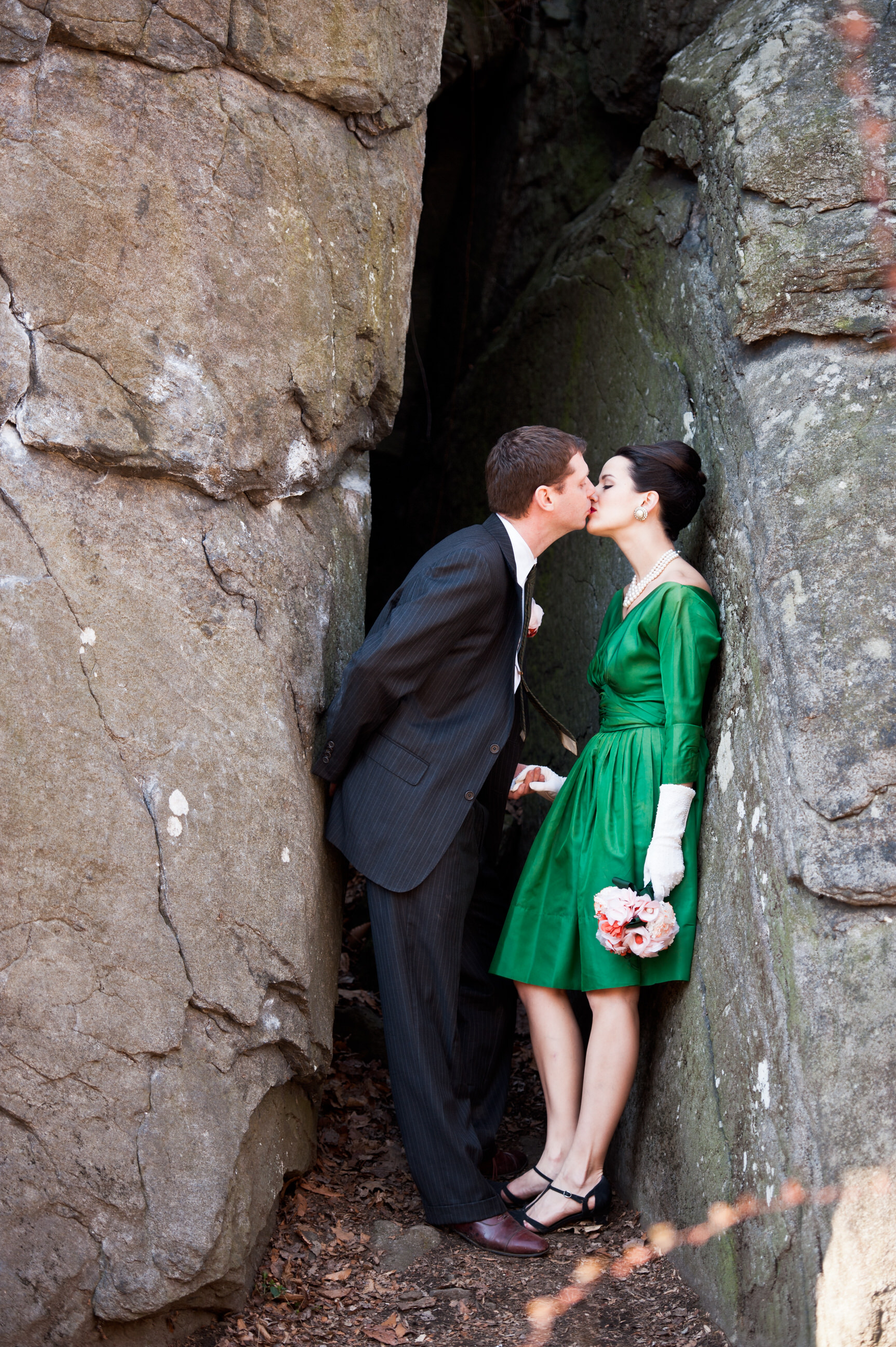 15 Philadelphia Event Planner Rock Climbing Mad Men Style Engagement.jpg