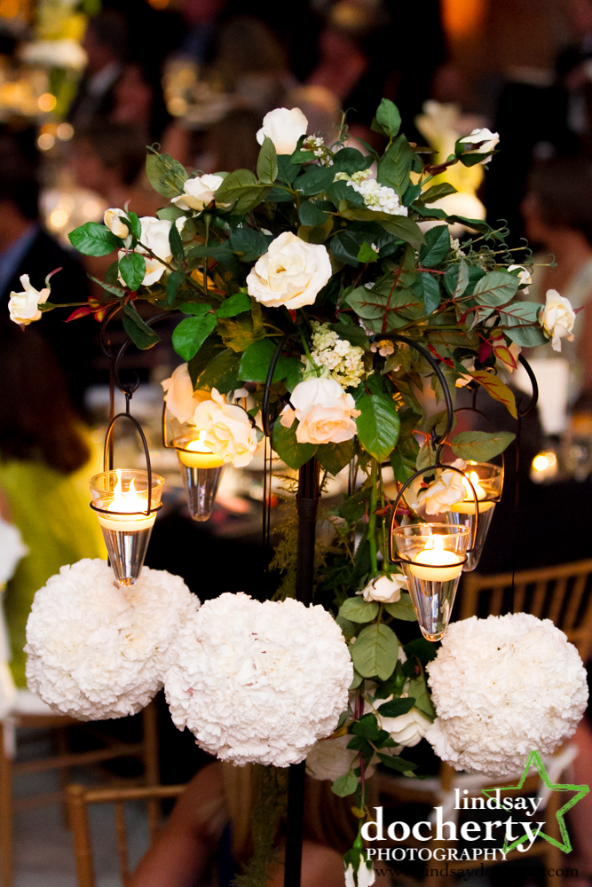 29 Philadelphia Wedding Please Touch Museum Kissing Balls Floating Candles Tall Centerpiece.jpg