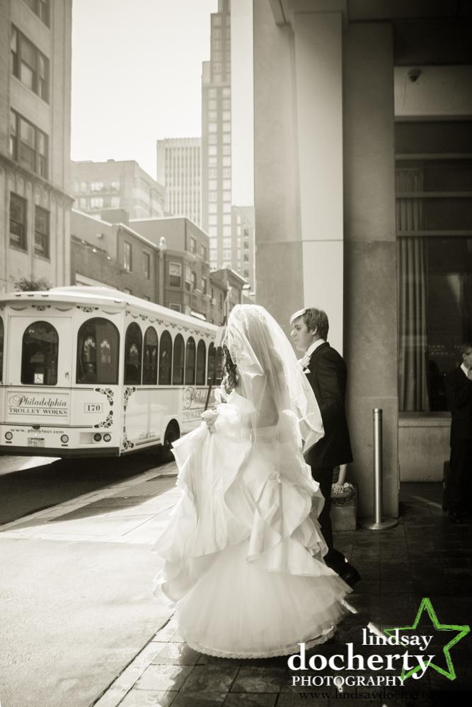 10 Philadelphia Wedding Please Touch Museum Trolley Bride Groom.jpg
