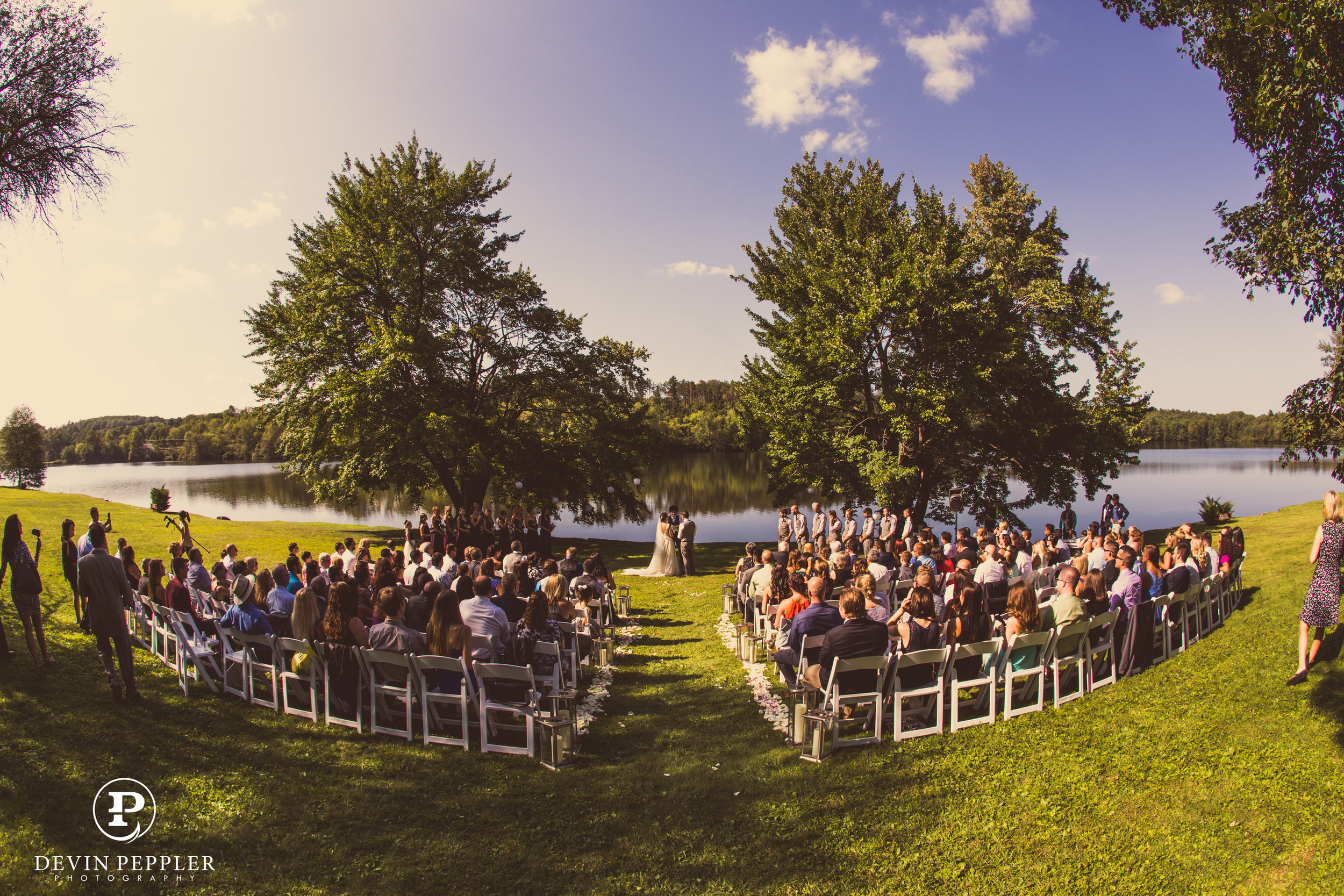 19 Trout Lake Wedding Camp Wedding Ceremony Aribella Events.jpg
