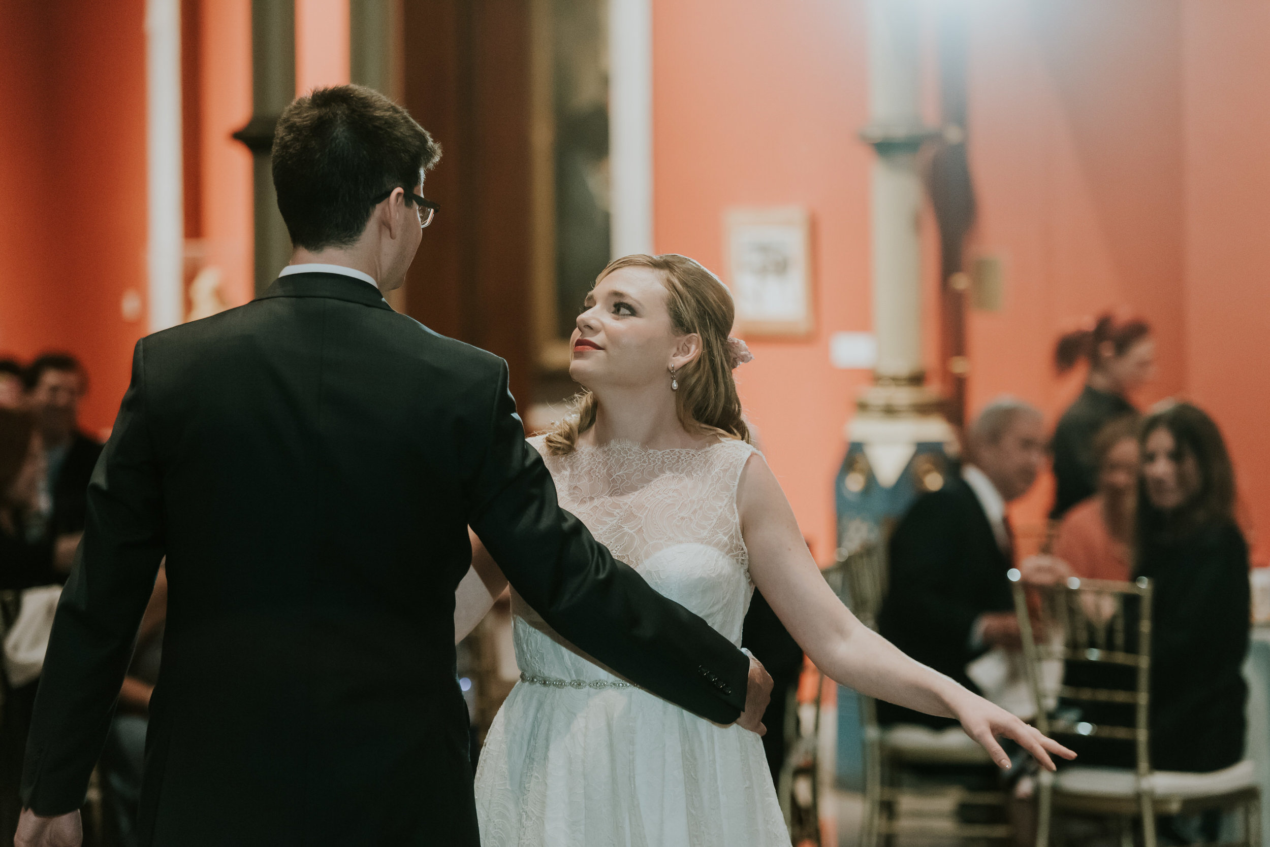 41 Philadelphia Wedding PAFA First Dance Art Museum Wedding.jpg